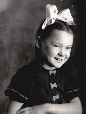 Люся Гурченко в дитинстві