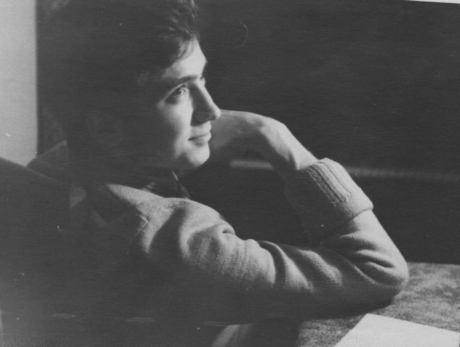 В роки навчання в Московській консерваторії. 1958 рік.