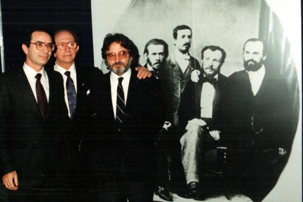 В.М.Воскобойніков на фестивалі російської музики в «Арена ді Верона» (Італія), присвяченому О.П.Бородіну. 1987-1988 роки.