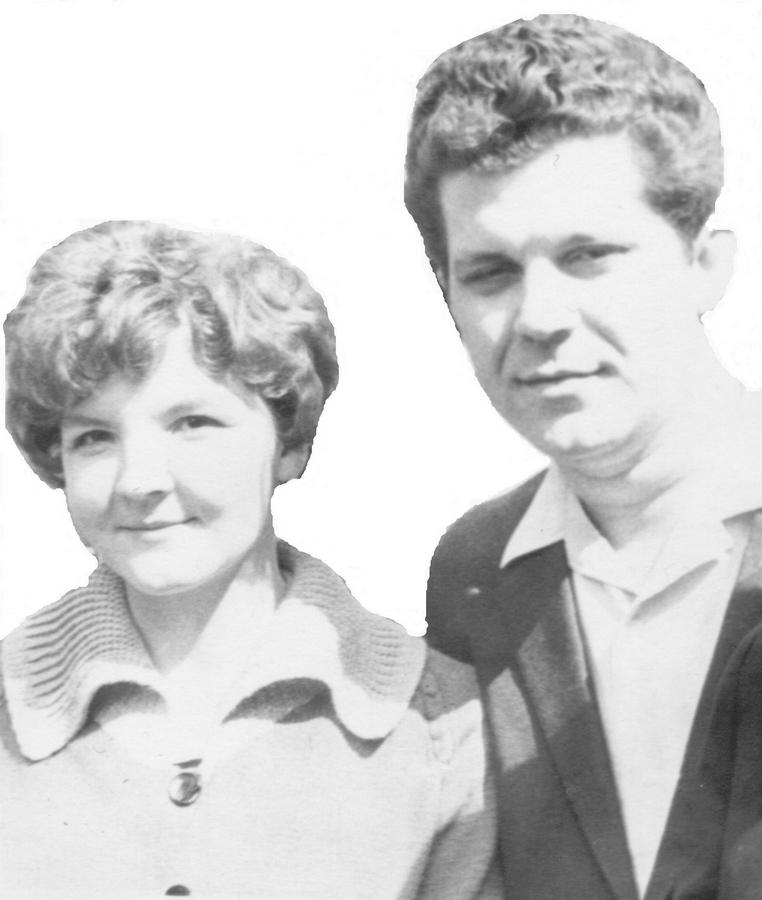 М.Черкашина та В.Губаренко (60-ті роки ХХ сторіччя)
