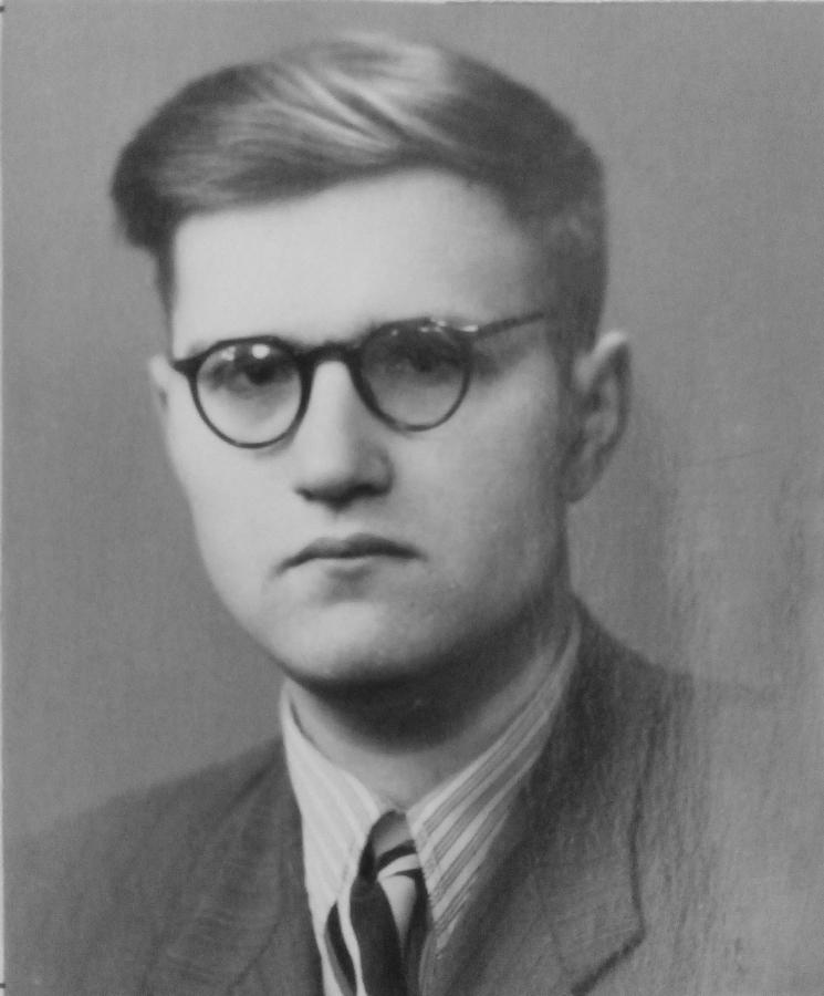 Леонід Решетніков – студент Харківської консерваторії